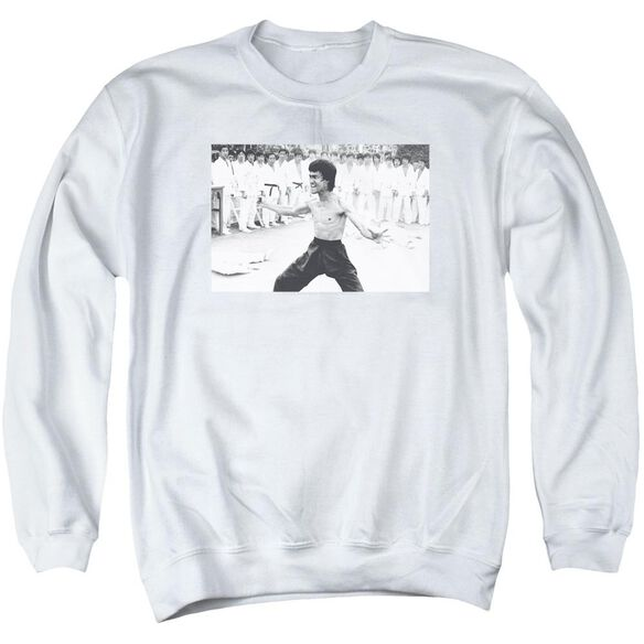 Bruce Lee Triumphant Adult Crewneck Sweatshirt