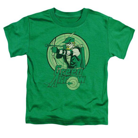 Dc Green Arrow Short Sleeve Toddler Tee Kelly Green Md T-Shirt