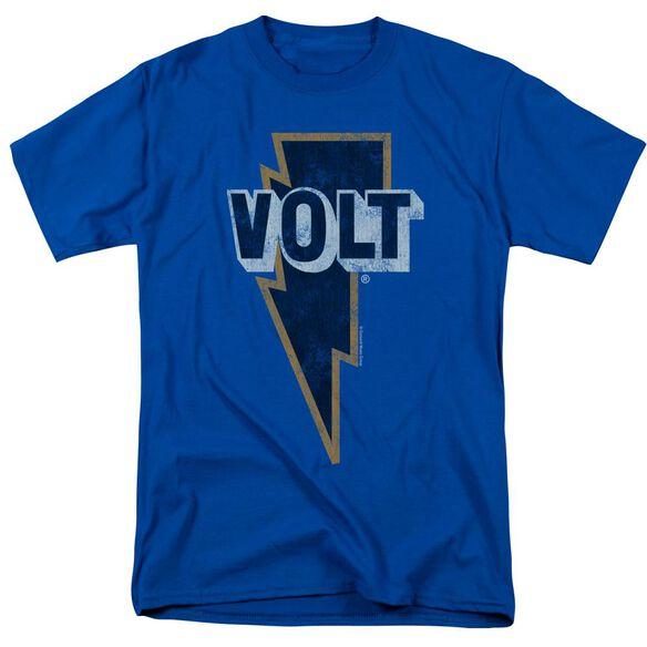Volt Volt Logo Short Sleeve Adult Royal Blue T-Shirt