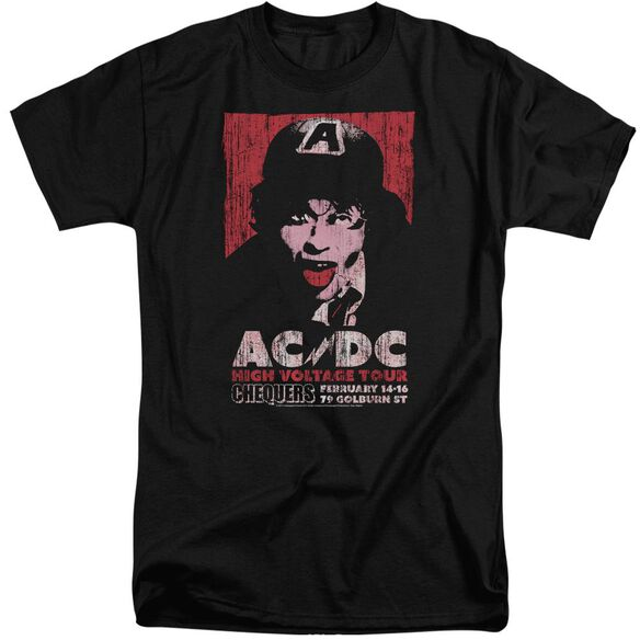 Acdc High Voltage Live 1975 Short Sleeve Adult Tall T-Shirt