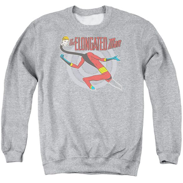 Dc Elongated Man Adult Crewneck Sweatshirt Athletic