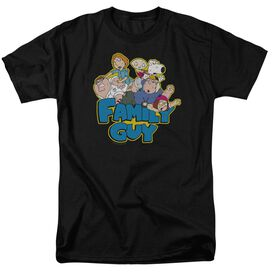 FAMILY GUY FAMILY FIGHT-S/S T-Shirt