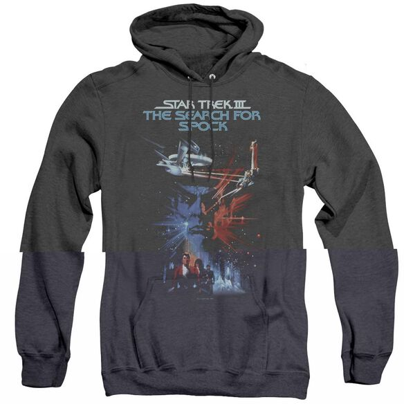 Star Trek Search For Spock(Movie) - Adult Heather Hoodie - Black