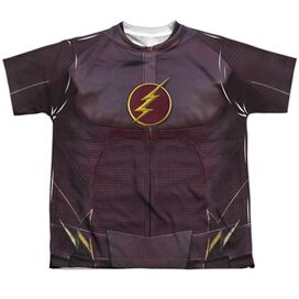 The Flash Flash Uniform Short Sleeve Youth Poly Crew T-Shirt