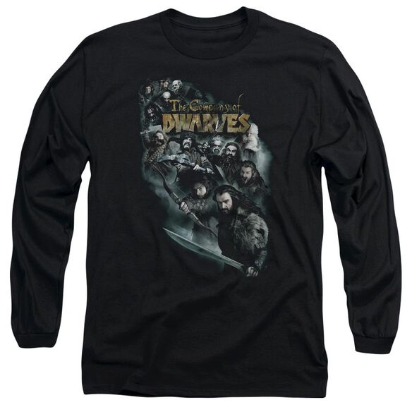 The Hobbit Company Of Dwarves Long Sleeve Adult T-Shirt