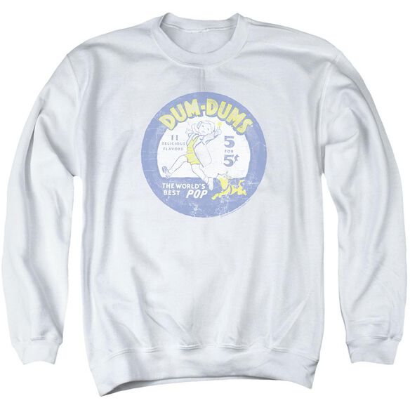 Dum Dums Pop Parade Adult Crewneck Sweatshirt