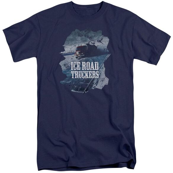 Ice Road Truckers Ice Road Short Sleeve Adult Tall T-Shirt