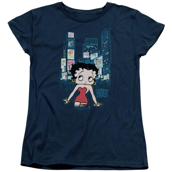 Betty Boop Square Short Sleeve Womens Tee T-Shirt