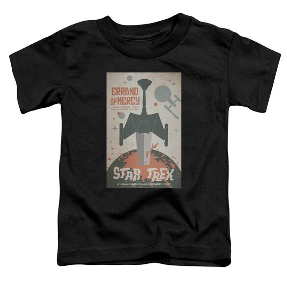 Star Trek Tos Episode 26 Short Sleeve Toddler Tee Black Lg T-Shirt