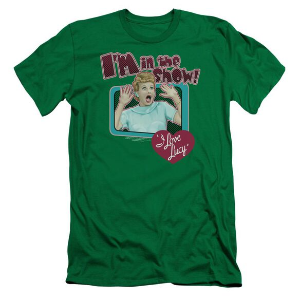 I Love Lucy Put Me In The Show Short Sleeve Adult Kelly T-Shirt