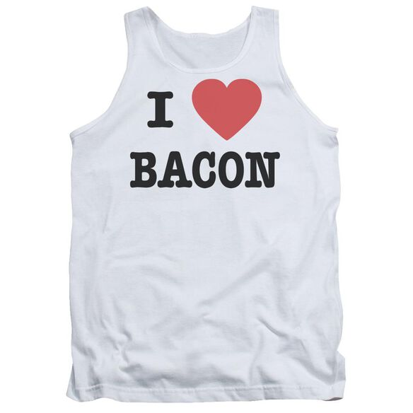 I Heart Bacon Adult Tank