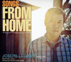 Joseph Legaspi & Hart/ Escobar - Songs from Home: Art Songs & Folk Songs from the Philippines