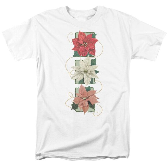 Poinsettias Short Sleeve Adult T-Shirt