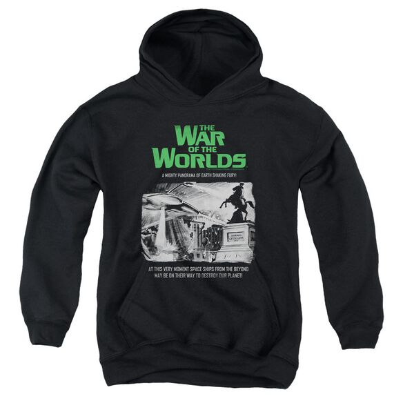 War Of The Worlds Attack People Poster Youth Pull Over Hoodie