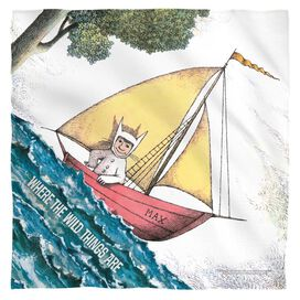Where The Wild Things Are Max's Boat Bandana White