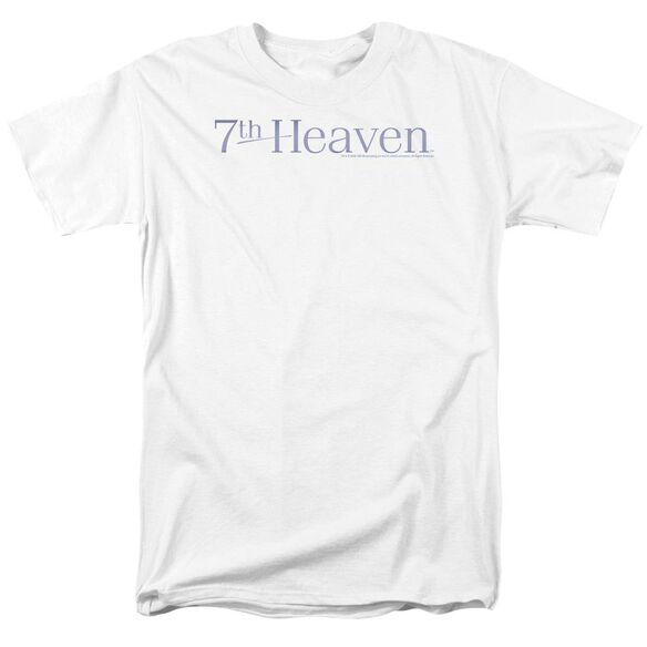 7TH HEAVEN 7TH HEAVEN LOGO - S/S ADULT 18/1 - WHITE T-Shirt