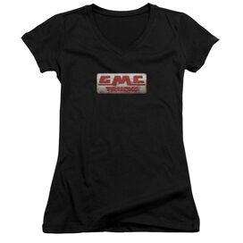 Gmc Beat Up 1959 Logo Junior V Neck T-Shirt