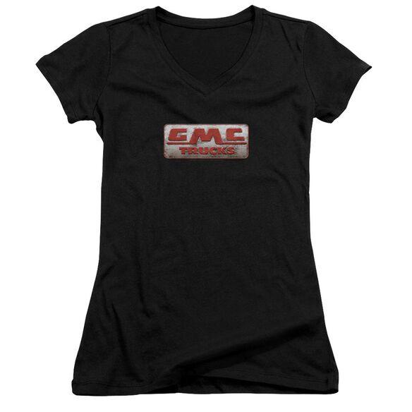 Gmc Beat Up 1959 Logo Junior V Neck T-Shirt