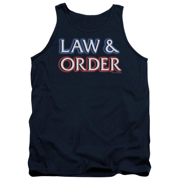 Law And Order Logo Adult Tank