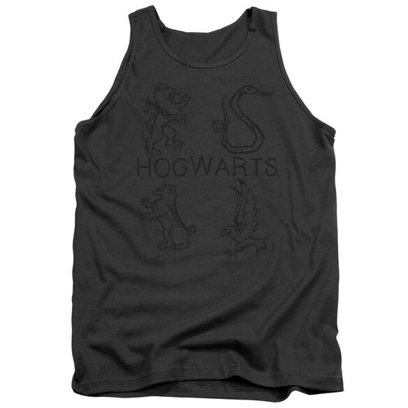 Harry Potter Literary Crests Adult Tank