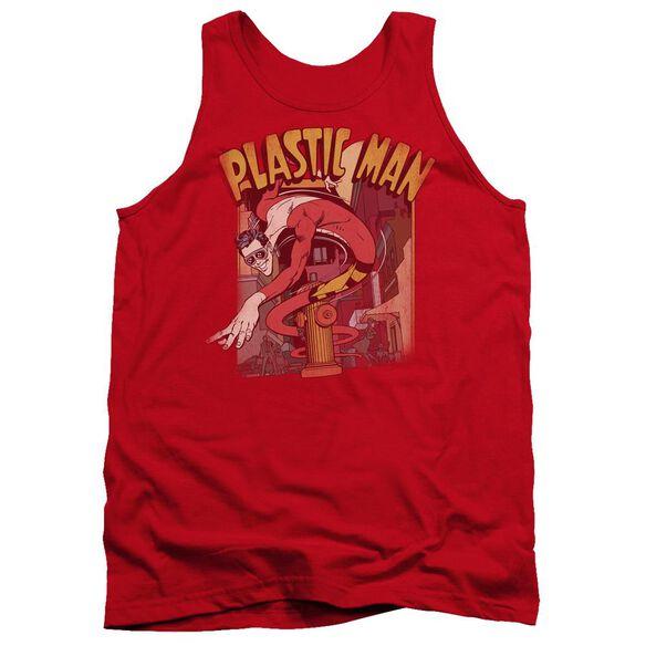 Dc Plastic Man Street Adult Tank