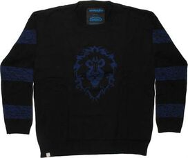 World of Warcraft Alliance Striped MF Sweater