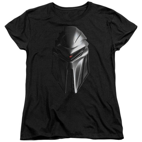 Bsg Cylon Head Short Sleeve Womens Tee T-Shirt