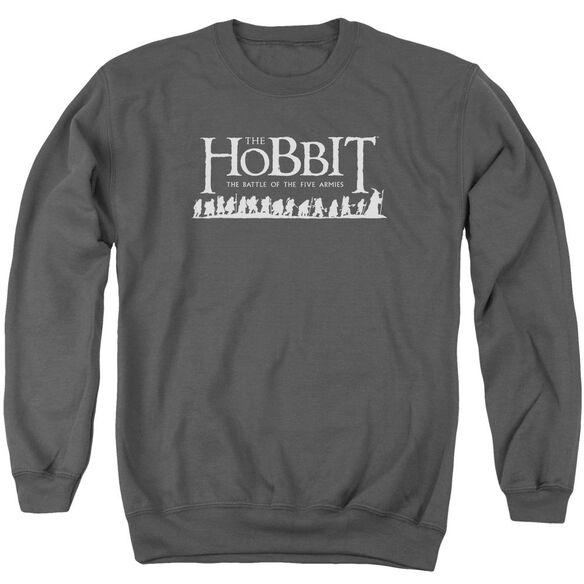 Hobbit Walking Logo Adult Crewneck Sweatshirt