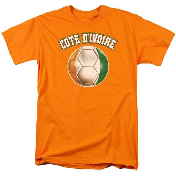 Cote Divoire Short Sleeve Adult T-Shirt