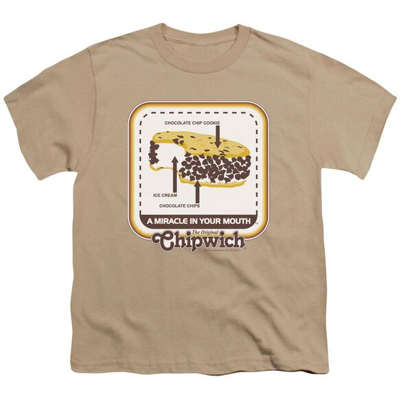 Chipwich Mouth Miracle Short Sleeve Youth T-Shirt