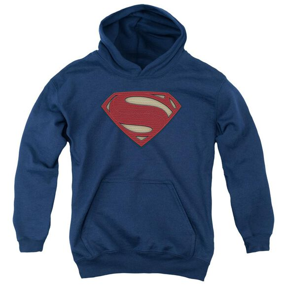 Batman V Superman Super Movie Logo Youth Pull Over Hoodie