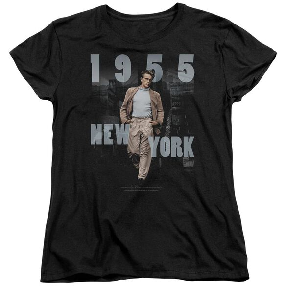 Dean New York 1955 Short Sleeve Womens Tee T-Shirt