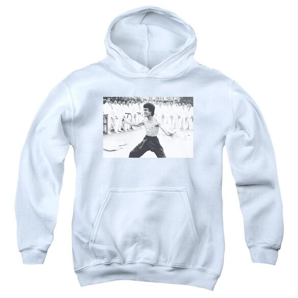 Bruce Lee Triumphant Youth Pull Over Hoodie