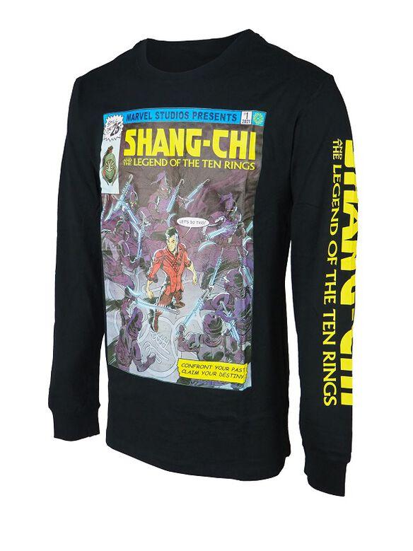 Marvel Shang-Chi Legend of the Ten Rings Classic Comic Long Sleeve T-Shirt
