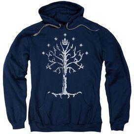 Lor Tree Of Gondor Adult Pull Over Hoodie