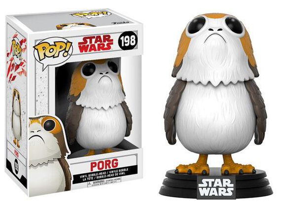 Funko Pop! Star Wars: EP8 - Porg
