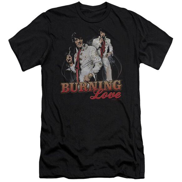 Elvis Burning Love Short Sleeve Adult T-Shirt