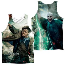 Harry Potter Harry Vs Voldemort (Front Back Print) Adult Poly Tank Top
