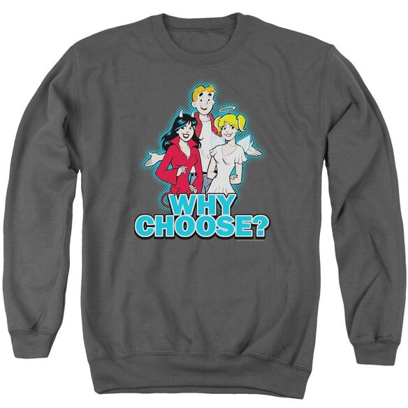 Archie Comics Why Choose Adult Crewneck Sweatshirt