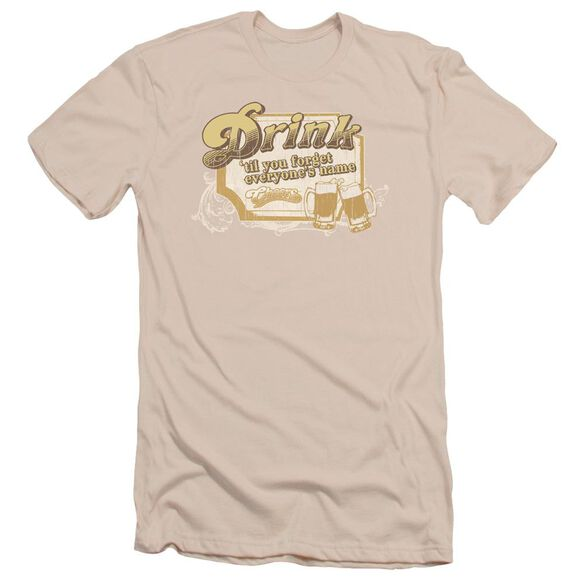 Cheers Drink To Forget Short Sleeve Adult T-Shirt