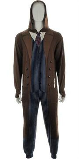 Doctor Who 10th Doctor Hooded Union Suit
