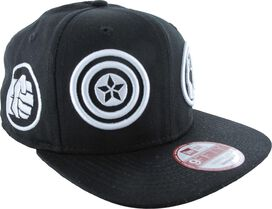 Avengers Team Icons Wrap 9FIFTY Snapback Hat
