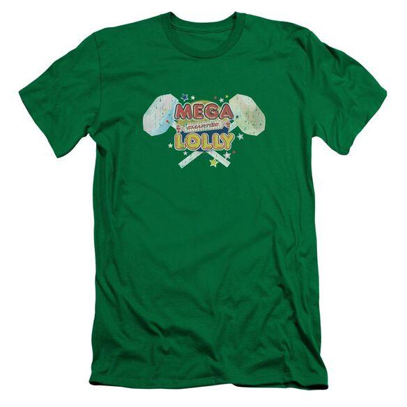 Smarties Mega Lolly Short Sleeve Adult Kelly T-Shirt
