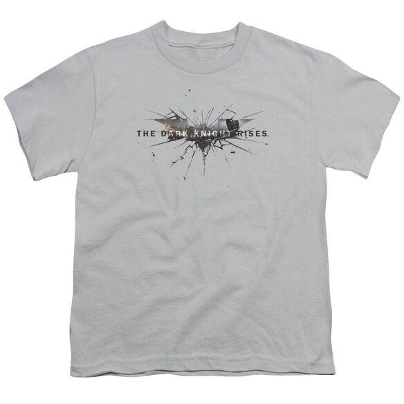 Dark Knight Rises Rise Logo Short Sleeve Youth T-Shirt