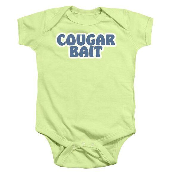 Cougar Bait Infant Snapsuit Soft Green Md