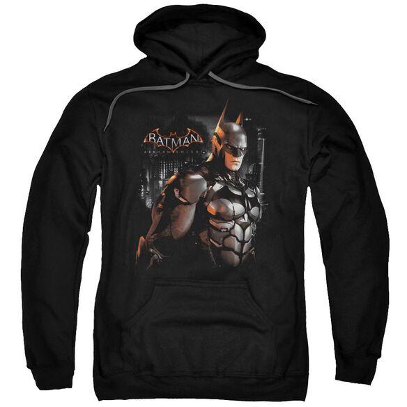 Batman Arkham Knight Dark Knight Adult Pull Over Hoodie