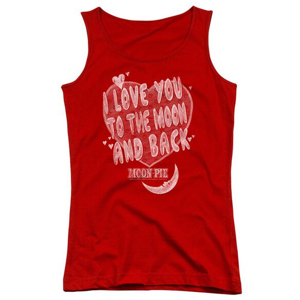Moon Pie I Love You Juniors Tank Top