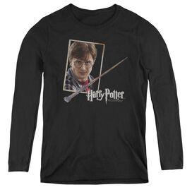 Harry Potter Harrys Wand Portrait-womens Long