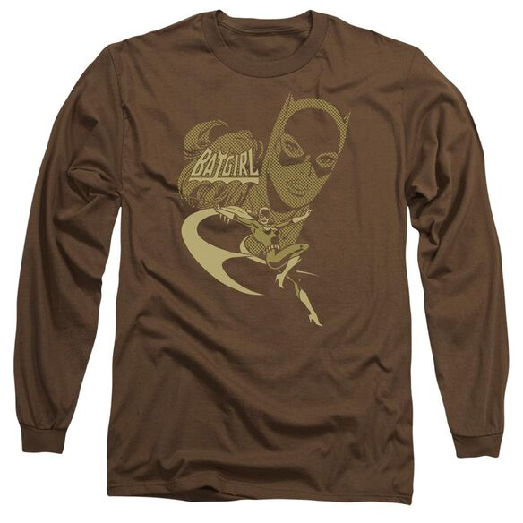 Dc Flying Batgirl Long Sleeve Adult T-Shirt