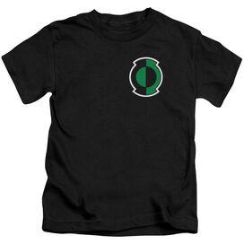 GREEN LANTERN KYLE LOGO - S/S JUVENILE 18/1 - BLACK - T-Shirt